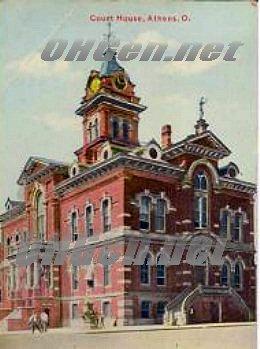 ohio athens county marriage records